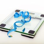 Dieting scale and measuring tape
